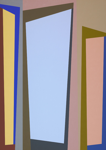 #8 , 1987  oil on canvas 63 x 45 inches; 160 x 114.3 centimeters
