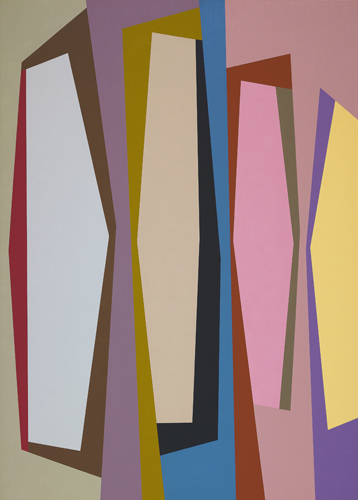 #9 , 1987  oil on canvas 63 x 45 inches; 160 x 114.3 centimeters