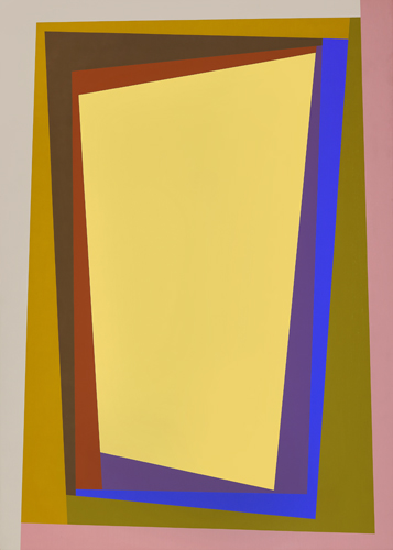 #1 , 1988  oil on canvas 63 x 45 inches; 160 x 114.3 centimeters