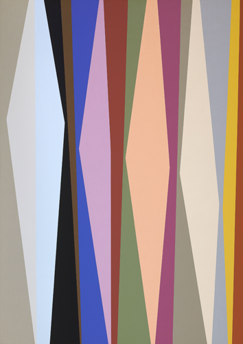#2 , 1988  oil on canvas 63 x 45 inches; 160 x 114.3 centimeters