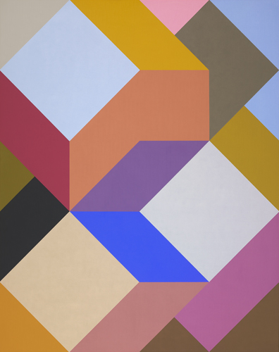#13 , 1988  oil on canvas 60 x 48 inches; 152.4 x 121.9 centimeters