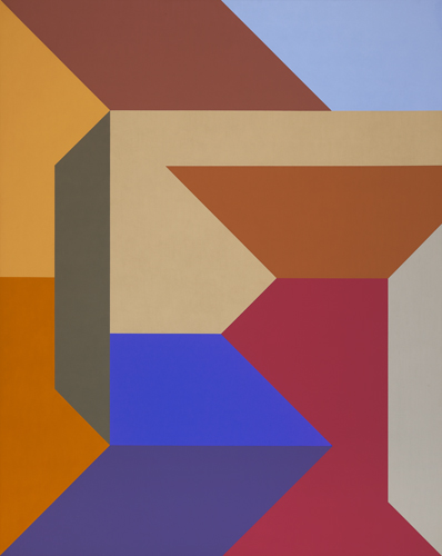 #18 , 1988  oil on canvas 60 x 48 inches; 152.4 x 121.9 centimeters