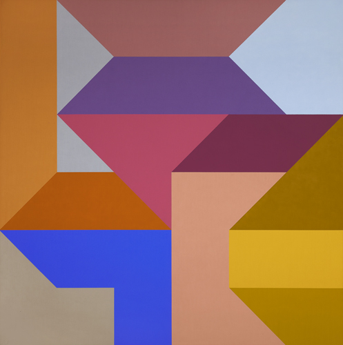 #15 , 1988  oil on canvas 60 x 60 inches; 152.4 x 152.4 centimeters