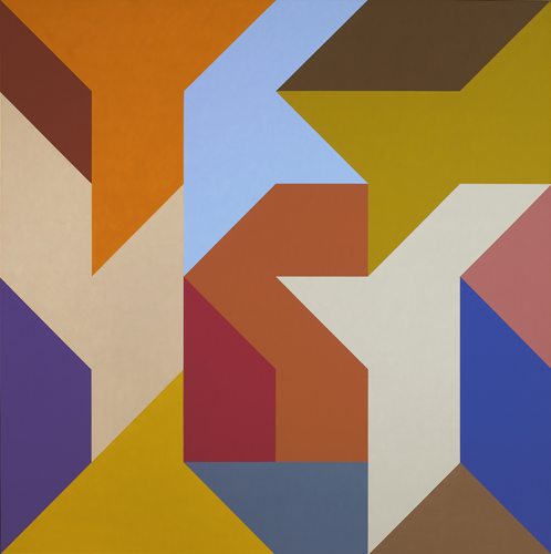 #21 , 1988  oil on canvas 60 x 60 inches; 152.4 x 152.4 centimeters