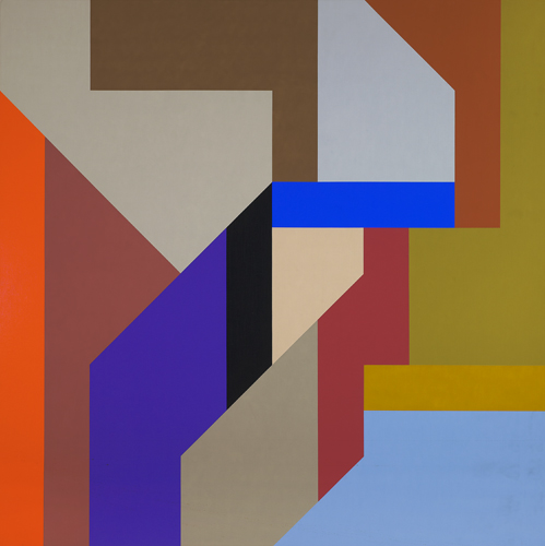 #22 , 1988  oil on canvas 60 x 60 inches; 152.4 x 152.4 centimeters