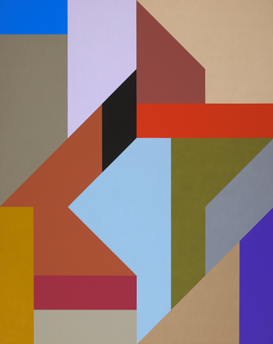 #23 , 1988  oil on canvas 60 x 48 inches; 152.4 x 121.9 centimeters