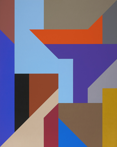 #24 , 1988  oil on canvas 60 x 48 inches; 152.4 x 121.9 centimeters