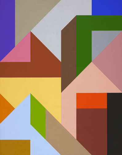 #2 , 1989  oil on canvas 60 x 48 inches; 152.4 x 121.9 centimeters