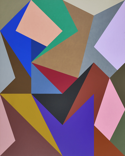 #4 , 1989  oil on canvas 60 x 48 inches; 152.4 x 121.9 centimeters