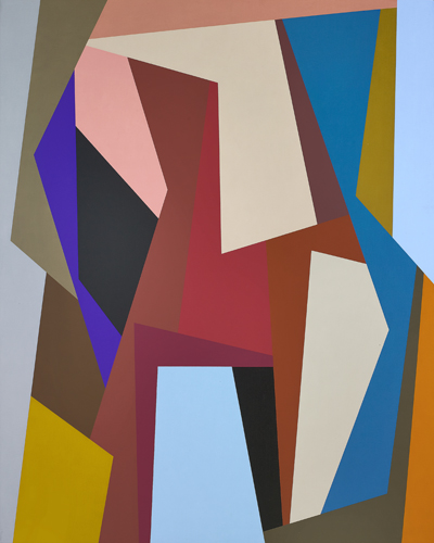 #5 , 1989  oil on canvas 60 x 48 inches; 152.4 x 121.9 centimeters