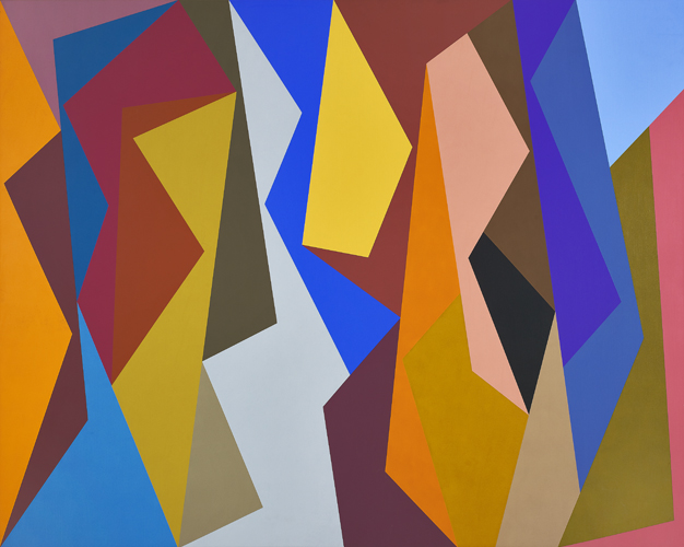 #1 , 1990  oil on canvas 48 x 60 inches; 121.9 x 152.4 centimeters