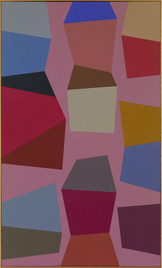 #10 , 1990  oil on canvas 50 1/2 x 30 1/2 inches; 128.3 x 77.5 centimeters