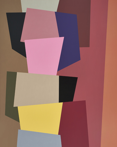 #3 , 1991  oil on canvas 48 x 60 inches; 121.9 x 152.4 centimeters