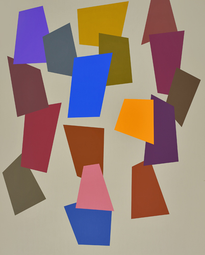 #5 , 1991  oil on canvas 60 x 48 inches; 152.4 x 121.9 centimeters