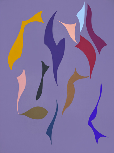 #1 , 1992  oil on canvas 48 x 36 inches; 121.9 x 91.4 centimeters