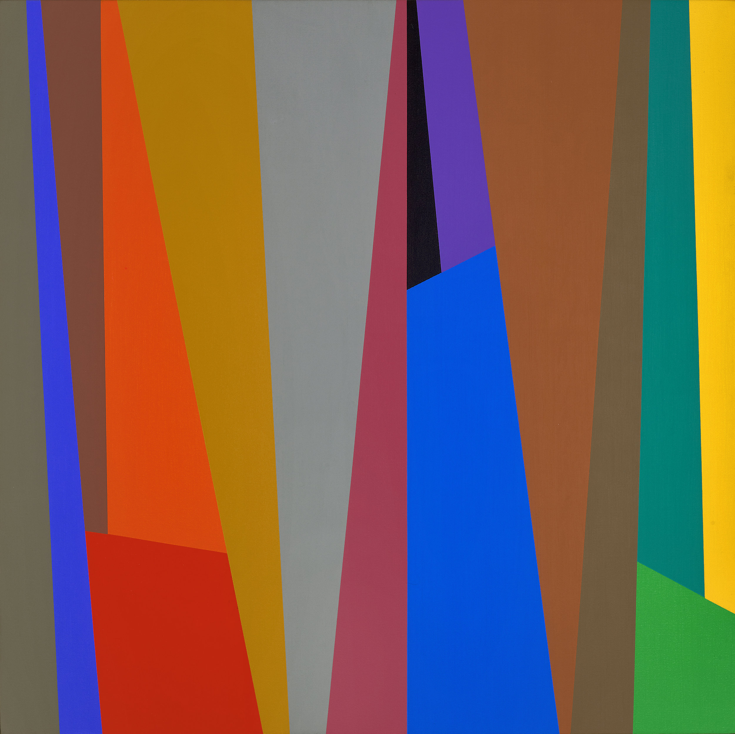 #1 , 1994  oil on canvas 30 x 30 inches; 76.2 x 76.2 centimeters