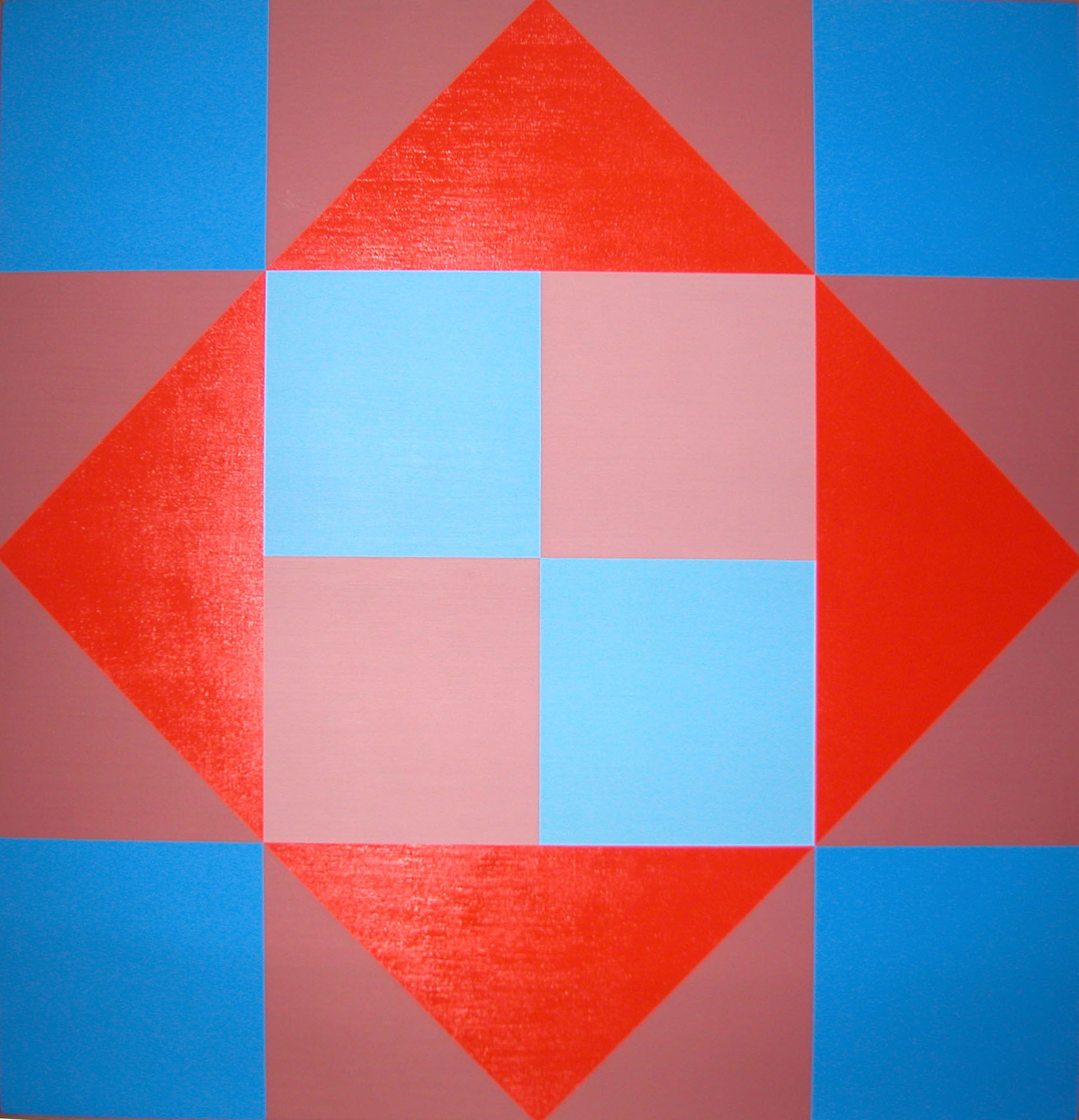 #9 , 1995  oil on canvas 30 x 30 inches; 76.2 x 76.2 centimeters