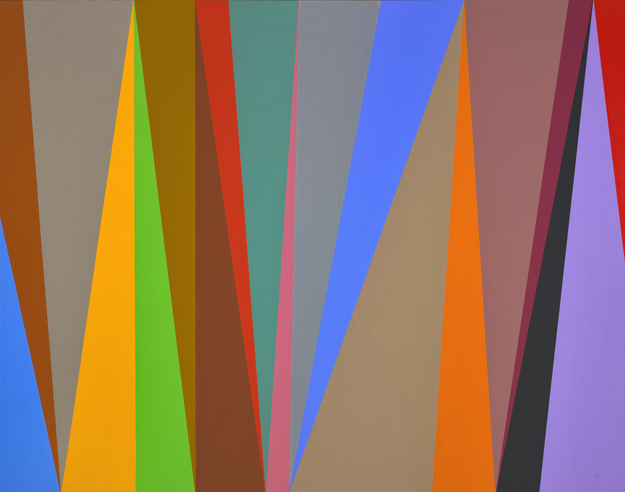 #6 , 1995  oil on canvas 44 x 56 inches; 111.8 x 142.2 centimeters