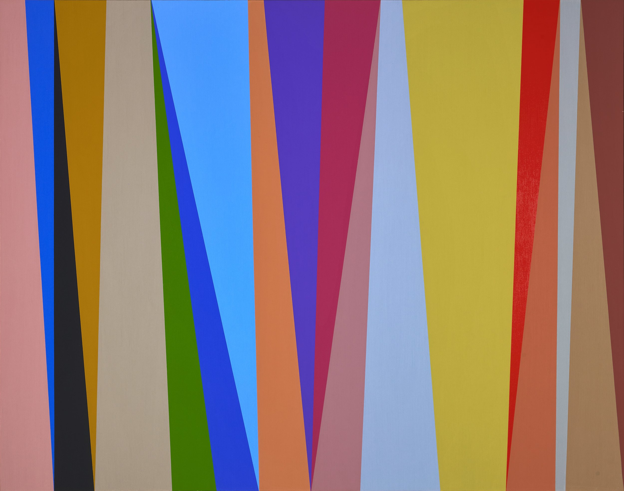 #8 , 1995  oil on canvas 44 x 56 inches; 111.8 x 142.2 centimeters