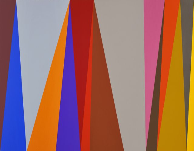 #7 , 1995  oil on canvas 44 x 56 inches; 111.8 x 142.2 centimeters