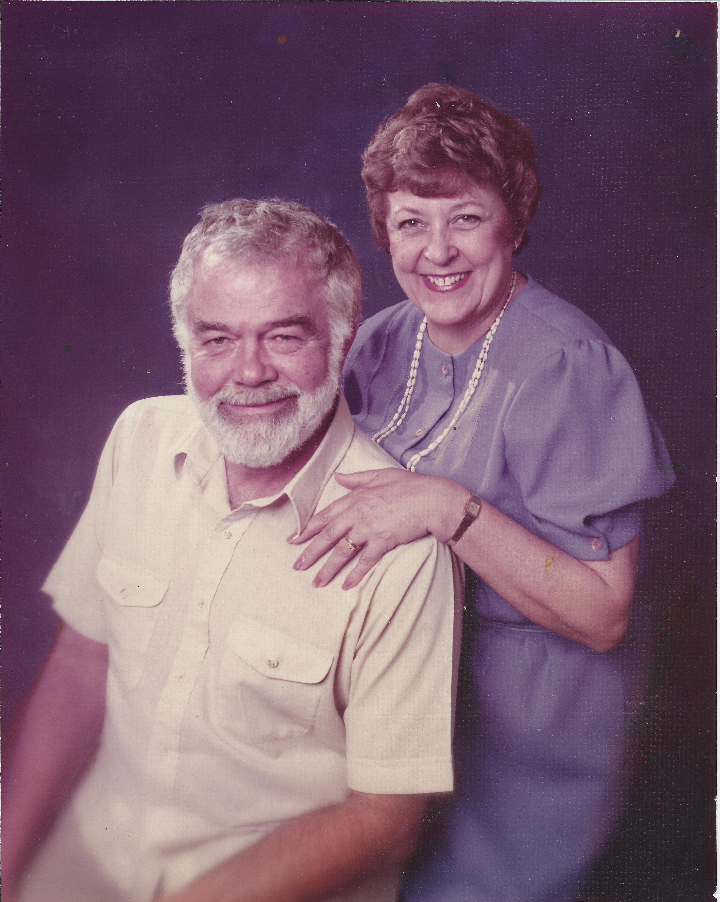 Karl Benjamin with his wife, Beverly Benjamin.