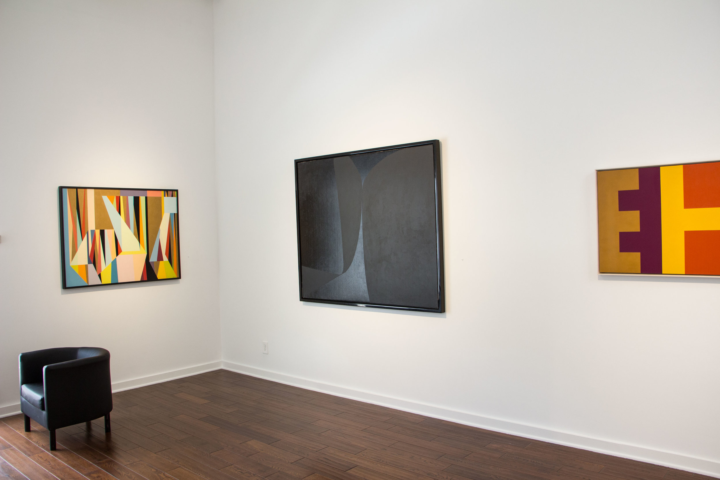 Helen Lundeberg and the Four Abstract Classicists  at Louis Stern Fine Arts, 2016