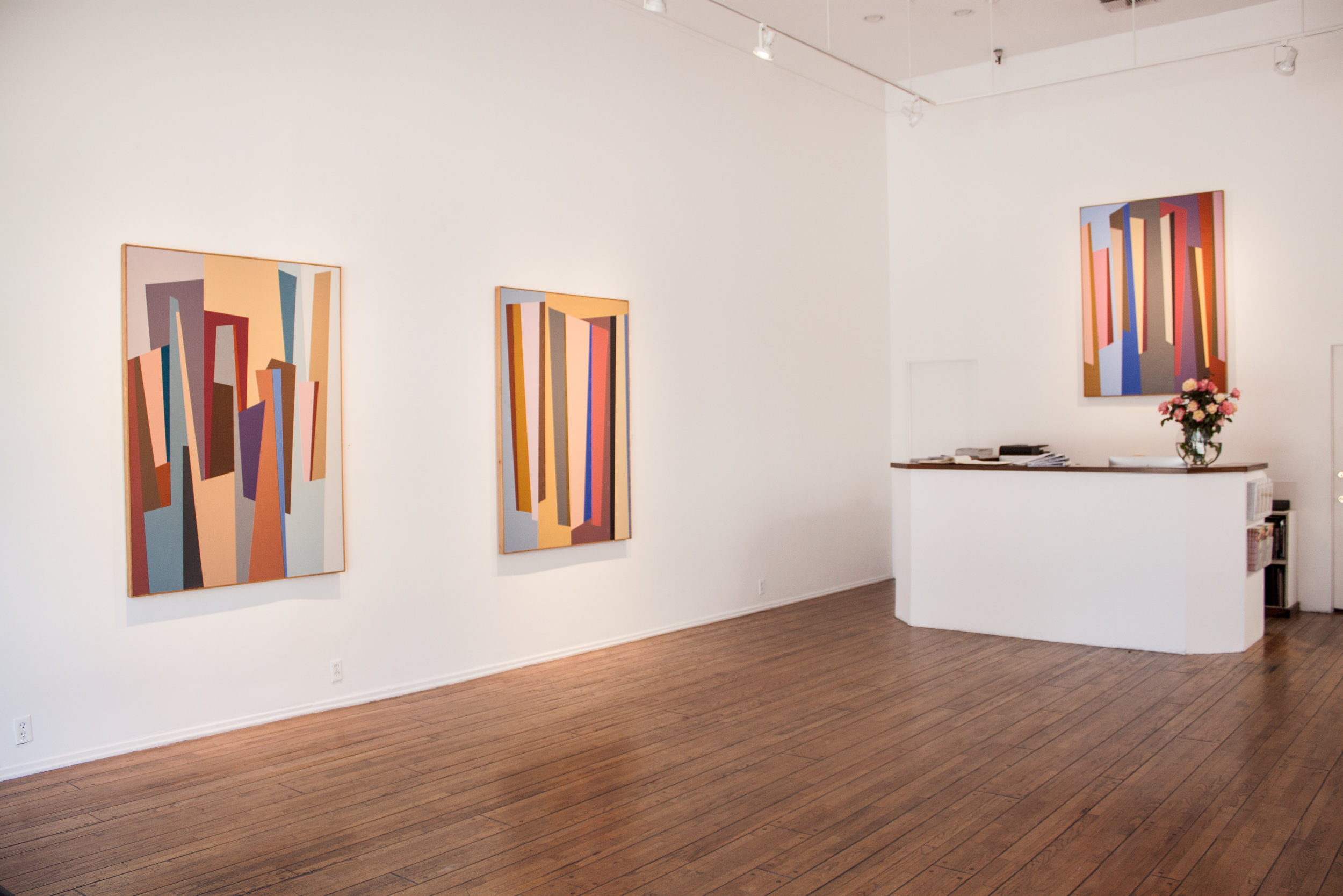 Karl Benjamin: The Late Paintings  at Louis Stern Fine Arts, 2014