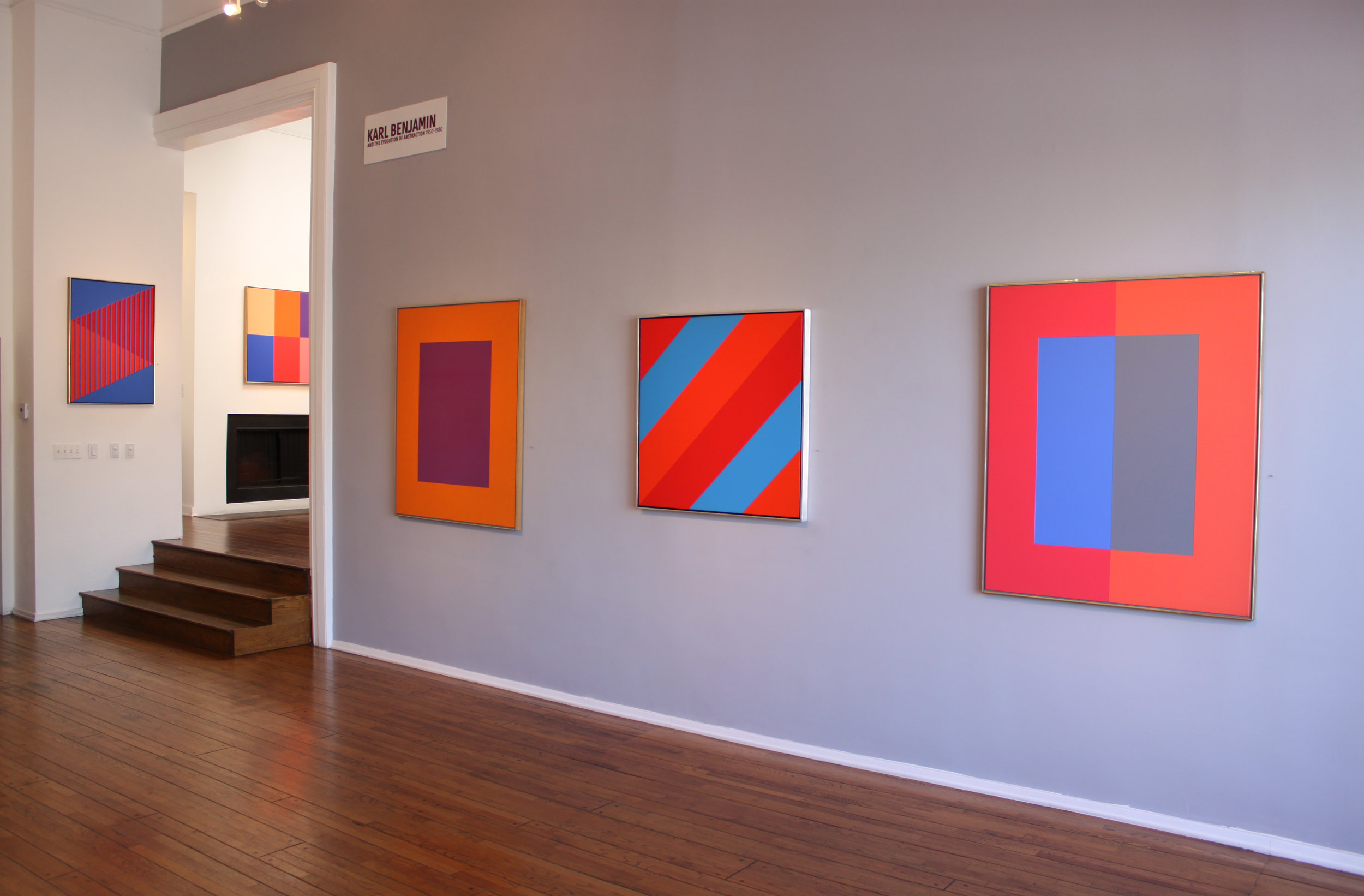 Karl Benjamin and the Evolution of Abstraction  at Louis Stern Fine Arts, 2011
