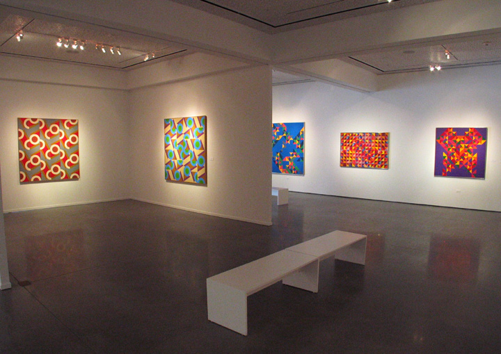 The Vibrant Edge: Paintings of Karl Benjamin from the 1960's, 70's and 80's , Oceanside Museum of Art, Oceanside, 2008