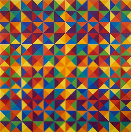 #6 , 1970 oil on canvas 68 x 68 inches; 172.7 x 172.7 centimeters  Utah Museum of Fine Arts