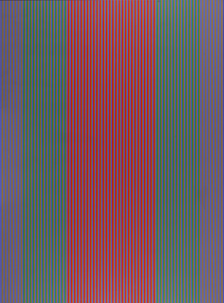 #1 , 1981  oil on canvas 72 x 54 inches; 182.9 x 137.2 centimeters  Laguna Art Museum
