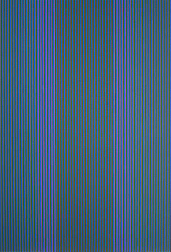 #12 , 1980 oil on canvas 72 × 48 inches; 182.9 x 121.9 centimeters  Private Collection