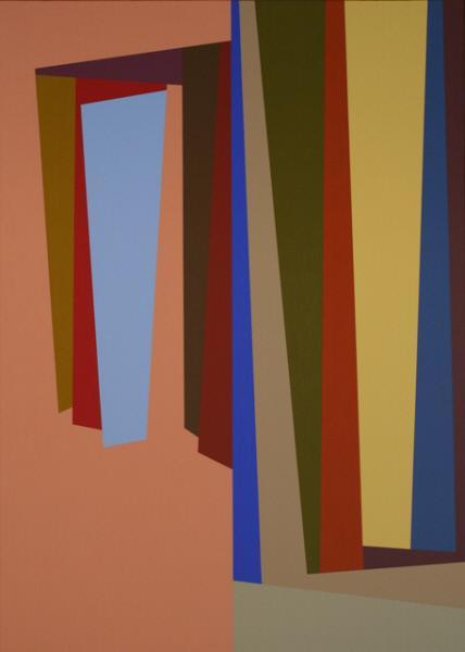 #19, 1986 oil on canvas 63 x 45 inches; 160 x 114.3 centimeters  Tacoma Art Museum