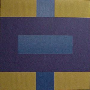 #8 , 1965 oil on canvas 42 x 42 inches; 106.7 x 106.7 centimeters  Ruth Chandler Williamson Gallery, Scripps College
