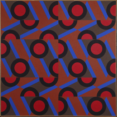 #26 , 1984 oil on canvas 60 x 60 inches; 152.4 x 152.4 centimeters  Hirshhorn Museum and Sculpture Garden