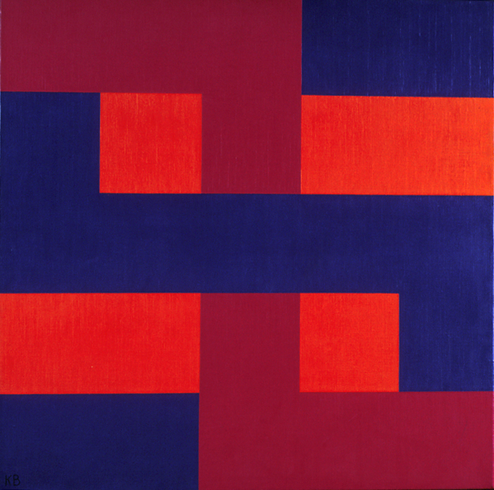#39, 1965 oil on canvas 24 x 24 inches; 60.96 x 60.96 centimeters  Long Beach Museum of Art