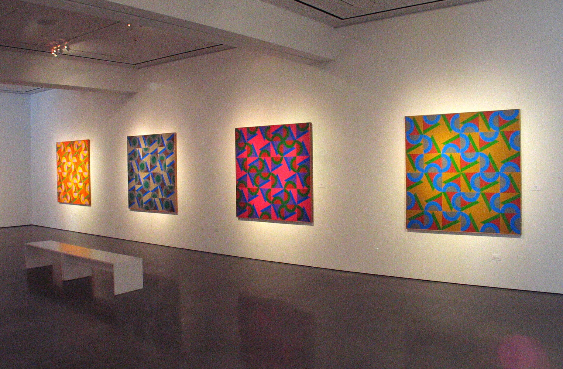 The Vibrant Edge: Paintings of Karl Benjamin from the 1960's, 70's and 80's , Oceanside Museum of Art, 2008