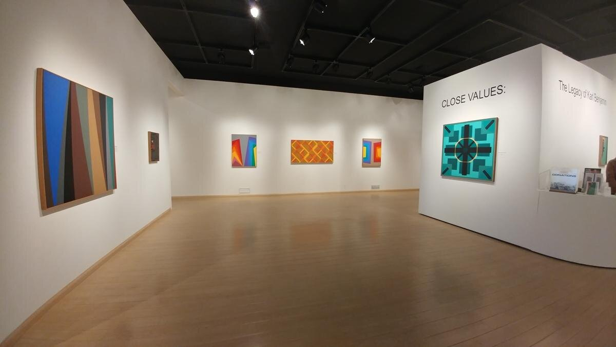 Close Values: The Legacy of Karl Benjamin , Mount San Antonio College Art Gallery, 2017