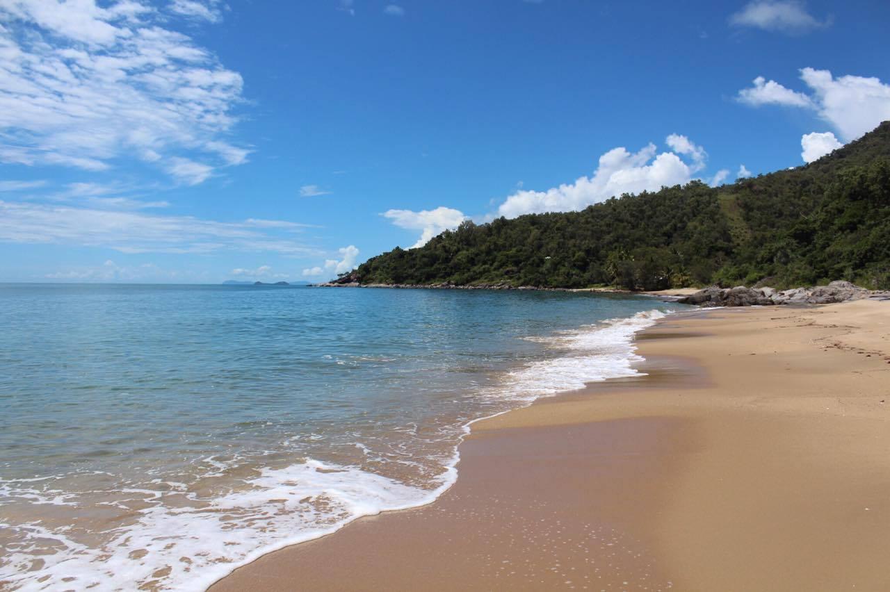 Clothing optional beach Cairns Port Douglas Australia