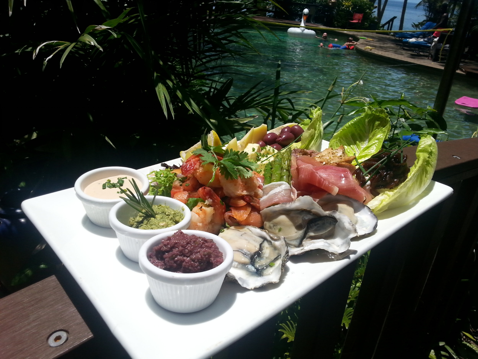 Poolside Lunch Platter by Chef John