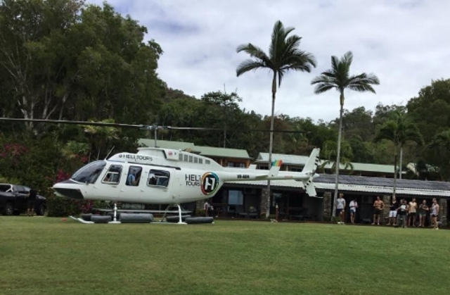 Adults only Resort Helicopter Great Barrier Reef Tours Cairns Port Douglas
