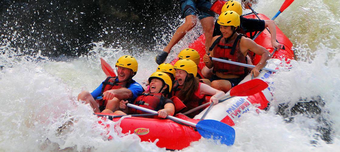 Barron River Half Day White Water Rafting