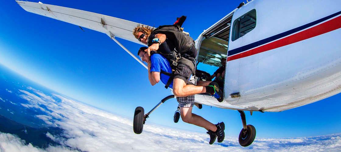 Skydiving Great Barrier Reef