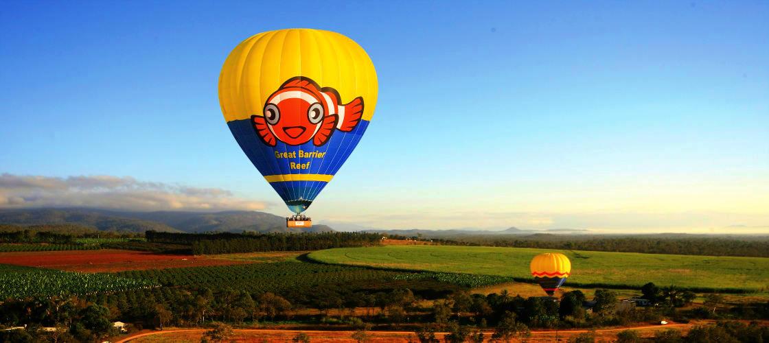 Hot Air Balooning Port Douglas