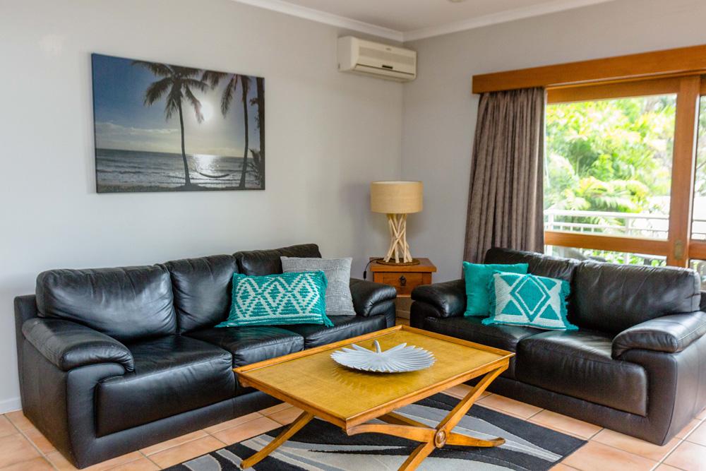 Garden View Apartment Lounge Room Port Douglas