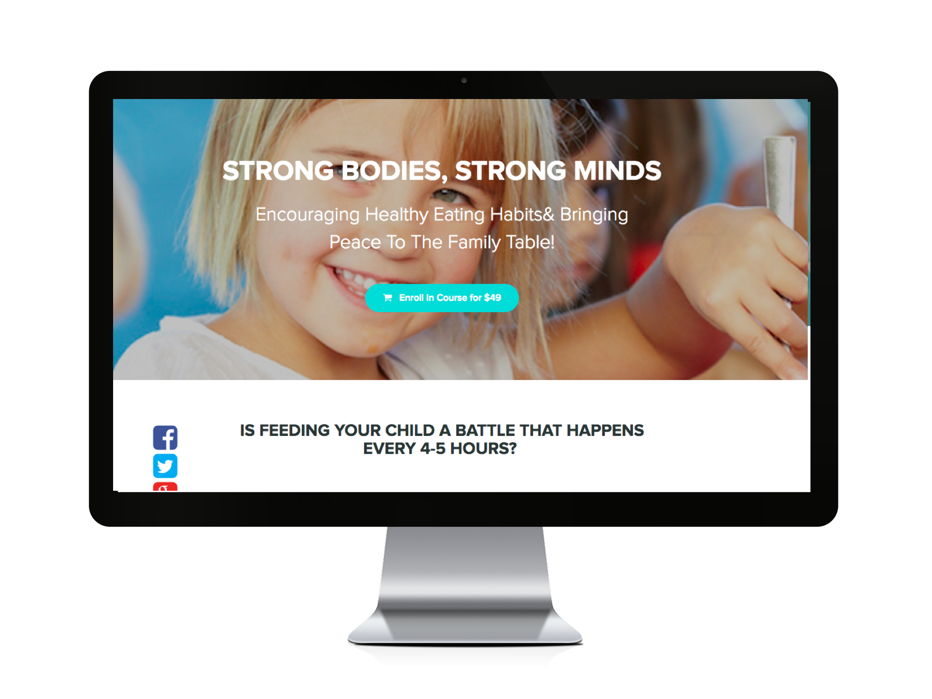 Strong Bodies Strong Minds Course - Eating and Feeding