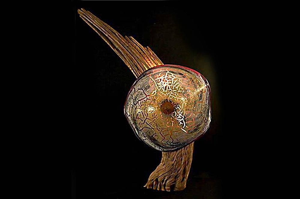 """""""Saguaro Rib Lamp""""(SOLD)"""