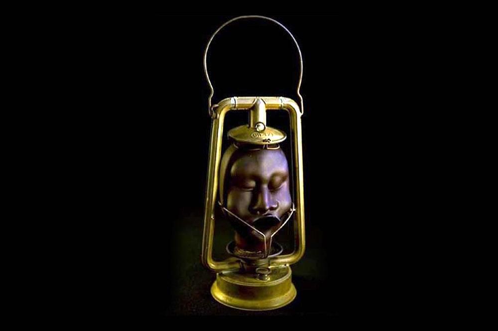 """Night Watchman"" Lamp (SOLD)"