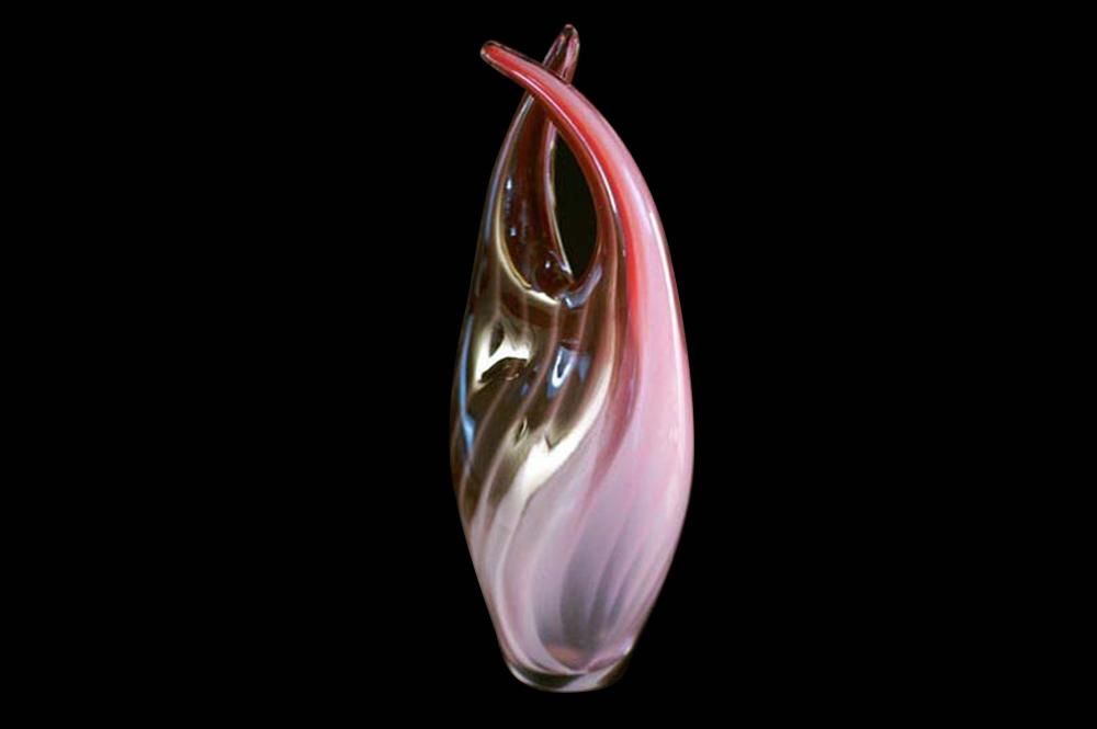 """Double Schnozzle Vase""(SOLD)"