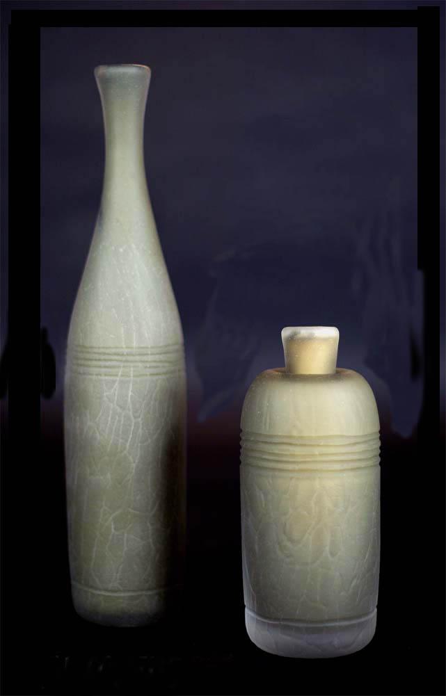 """""""Primative Bottle Set"""" (SOLD)"""